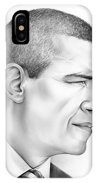 Barack Obama iPhone Case - President Obama by Greg Joens