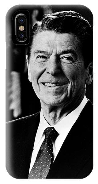 President Ronald Reagan IPhone Case