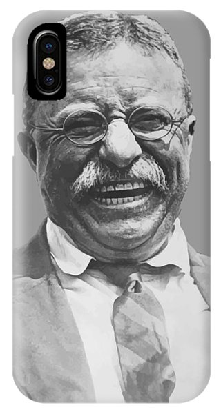 History iPhone Case - President Teddy Roosevelt by War Is Hell Store