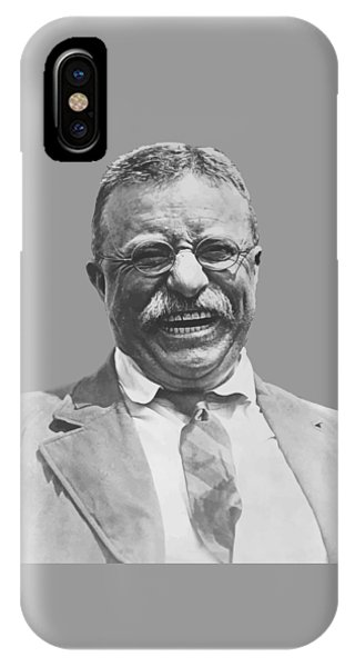 Hero iPhone Case - President Teddy Roosevelt by War Is Hell Store