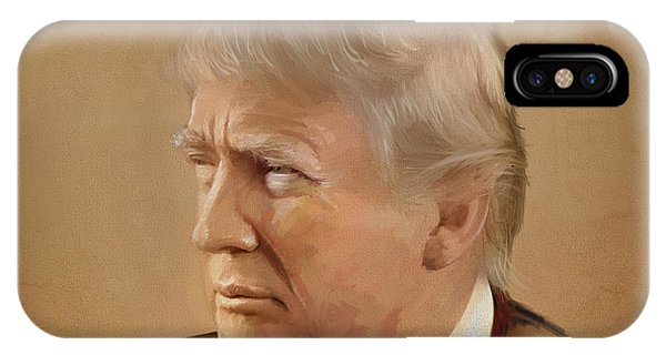 President Trump IPhone Case