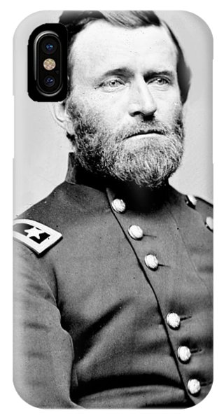 President Ulysses S Grant In Uniform IPhone Case