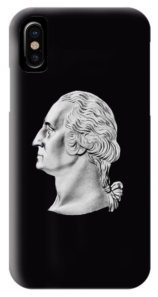 George Washington iPhone Case - President Washington Bust  by War Is Hell Store