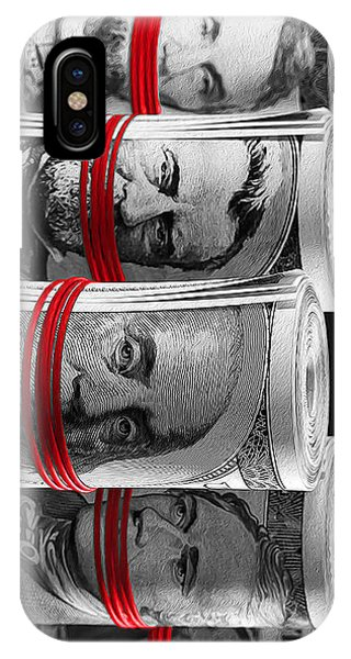 100 iPhone Case - Presidents For Ransom by Canvas Cultures