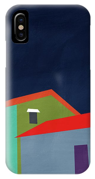 Grey Skies iPhone Case - Presidio- Art By Linda Woods by Linda Woods