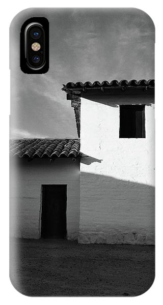 Adobe iPhone Case - Presidio Shadows- Art By Linda Woods by Linda Woods