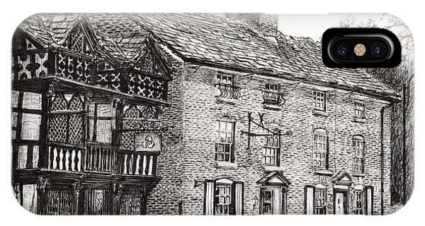 Pub iPhone Case - Prestbury by Vincent Alexander Booth