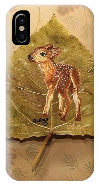 Pretty Baby Deer IPhone Case