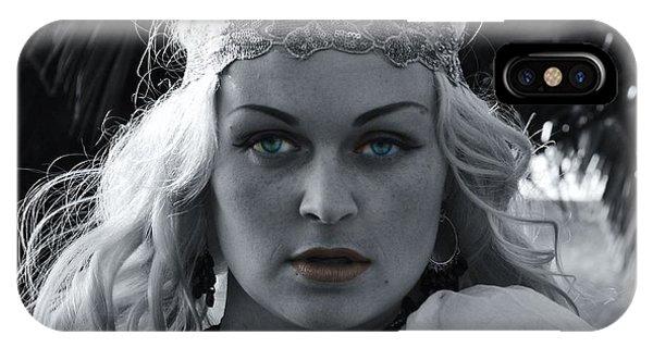 Pretty Blue Eyes IPhone Case