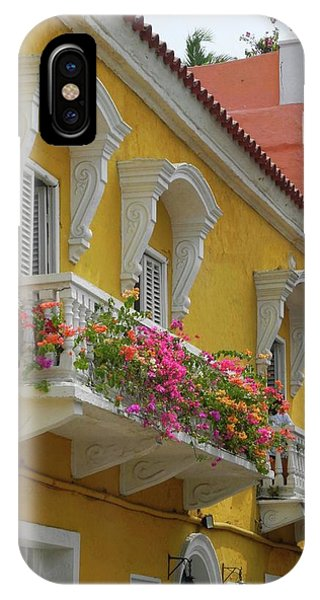 Pretty Dwellings In Old-town Cartagena IPhone Case