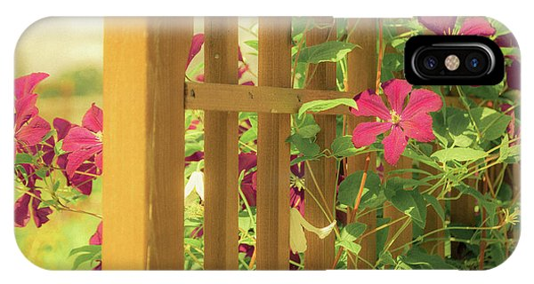 Pretty Flower Garden IPhone Case