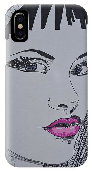 Pretty In Pink Lips IPhone Case