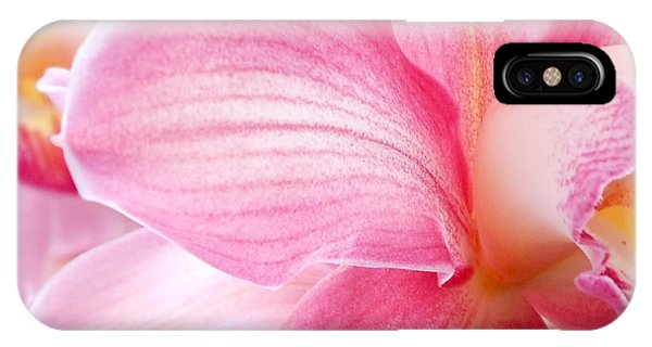 Pretty In Pink Orchid Petals IPhone Case