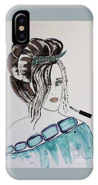 Pretty Lady IPhone Case