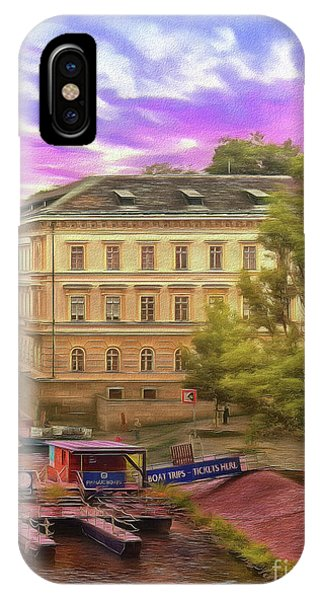 Pretty On The River - Prague IPhone Case