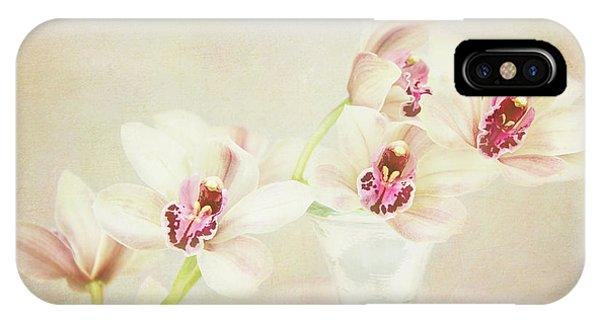 Pretty Orchids IPhone Case
