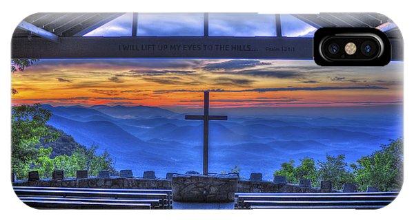 Pretty Place Chapel Sunrise 777  IPhone Case