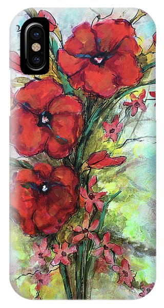 Pretty Poppies IPhone Case