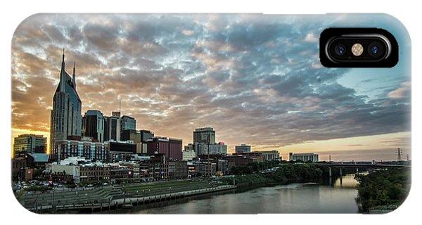 Pretty Sky And Nashville Skyline IPhone Case