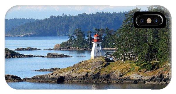 Prevost Island Lighthouse IPhone Case