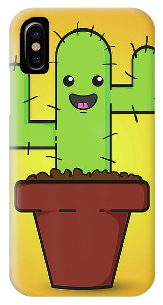 Horticulture iPhone Case - Prickle by Samuel Whitton