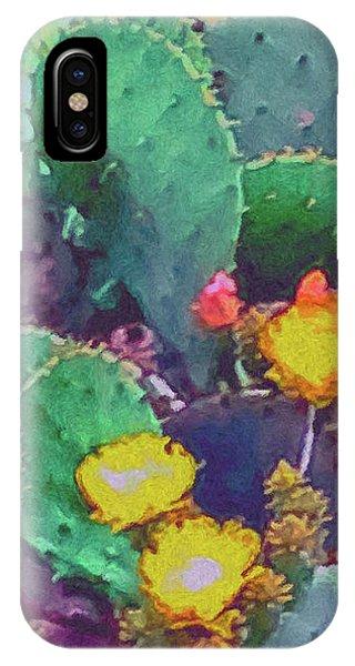 Prickly Pear Cactus 2 IPhone Case