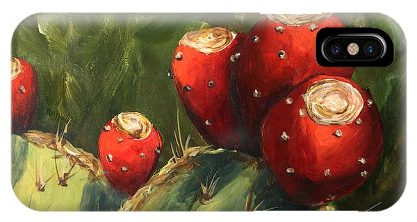 iPhone Case - Prickly Pear IIi by Torrie Smiley