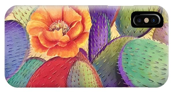 Prickly Rose Garden IPhone Case