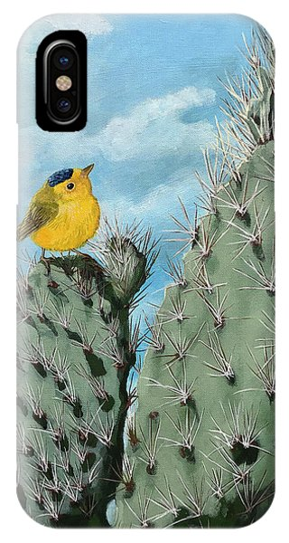 Prickly View - Wildlife Painting IPhone Case