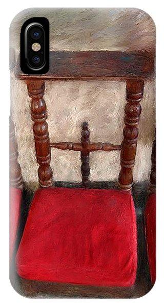 Prie Dieu - Prayer Kneeler IPhone Case