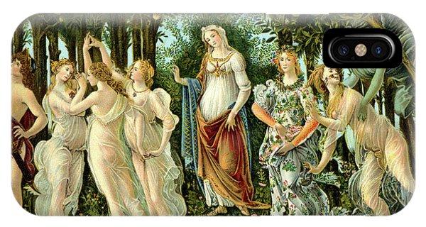 Botticelli iPhone Case - Primavera Or Spring by Sandro Botticelli