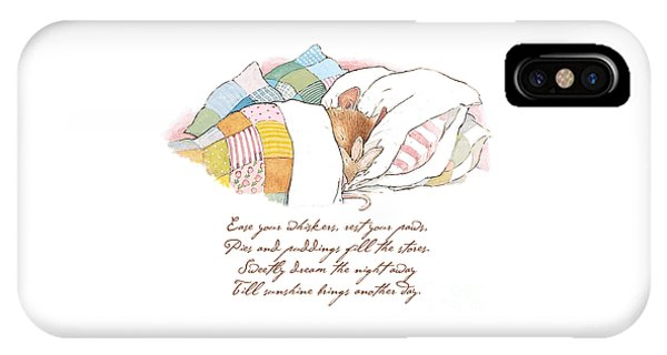 Primrose Goes To Sleep IPhone Case