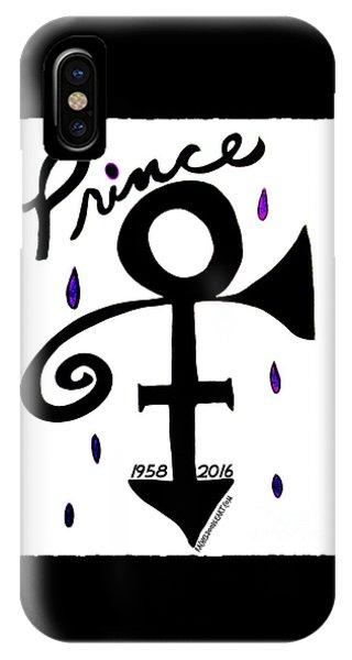 Prince 1958-2016 IPhone Case
