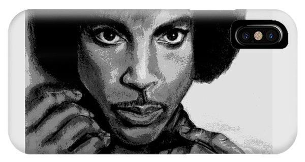 Prince Art - Pencil Drawing From Photography - Ai P. Nilson IPhone Case