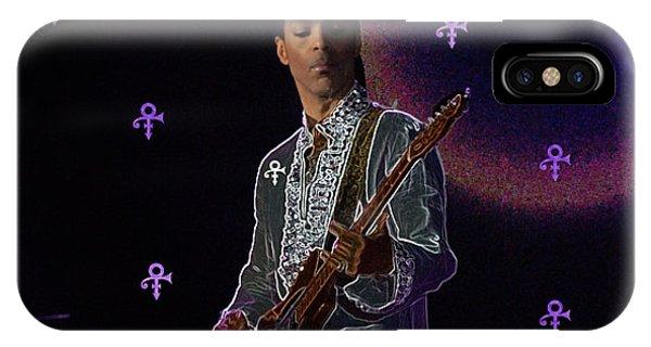 Prince At Coachella IPhone Case