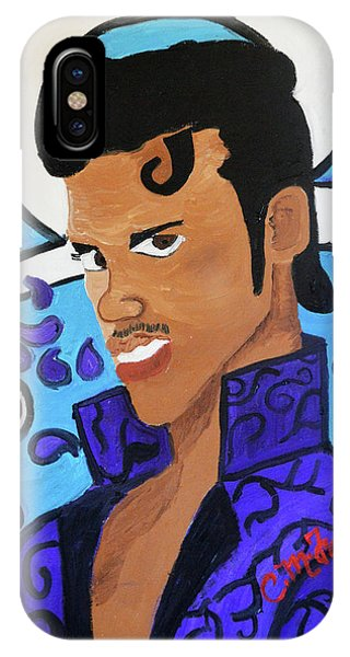 IPhone Case featuring the painting Prince by Christopher Farris