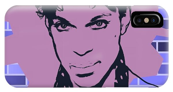 Purple Rain iPhone Case - Prince Graffiti Tribute by Dan Sproul