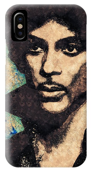 Prince Illustration IPhone Case