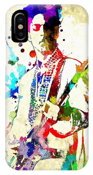 Prince In Concert IPhone Case