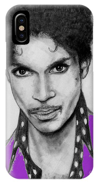 Prince In Purple IPhone Case