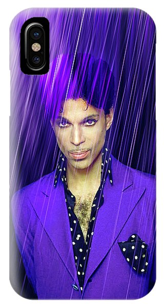 Guitar Legends iPhone Case - Prince by Mal Bray