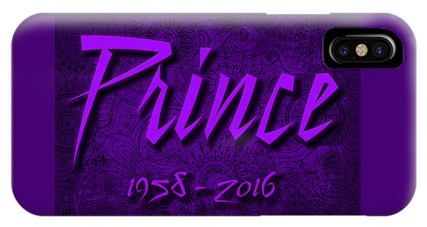 Prince Memorial IPhone Case