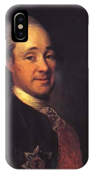 Prince Mikhail Shcherbatov 1781 IPhone Case