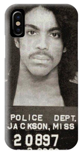 Prince Mug Shot Vertical IPhone Case