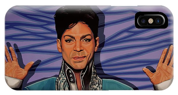 Rhythm And Blues iPhone Case - Prince 2 by Paul Meijering