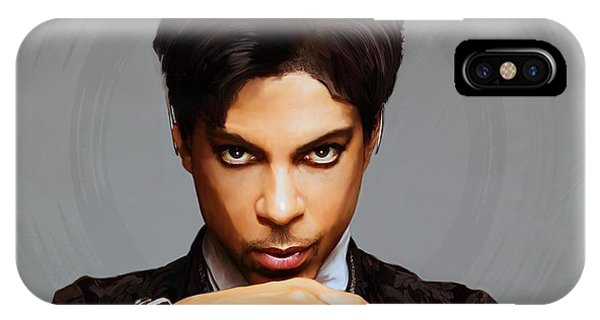 Legends Music iPhone Case - Prince by Paul Tagliamonte