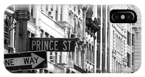 Prince Street IPhone Case
