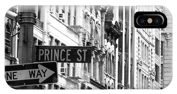 Prince Street IPhone Case