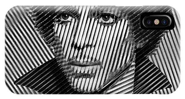 Prince - Tribute In Black And White Sketch IPhone Case
