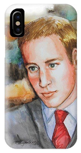 Prince William IPhone Case